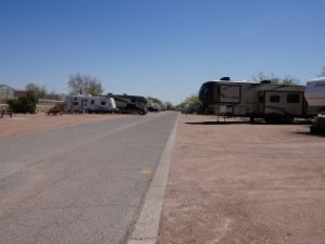The area we stayed in at Mission