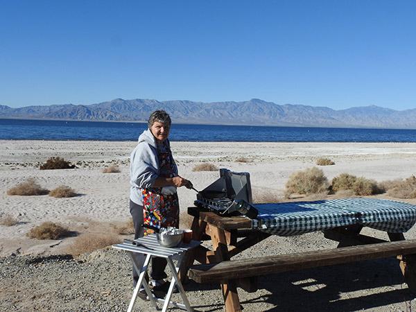 Connie-Cooking-Salton-Sea
